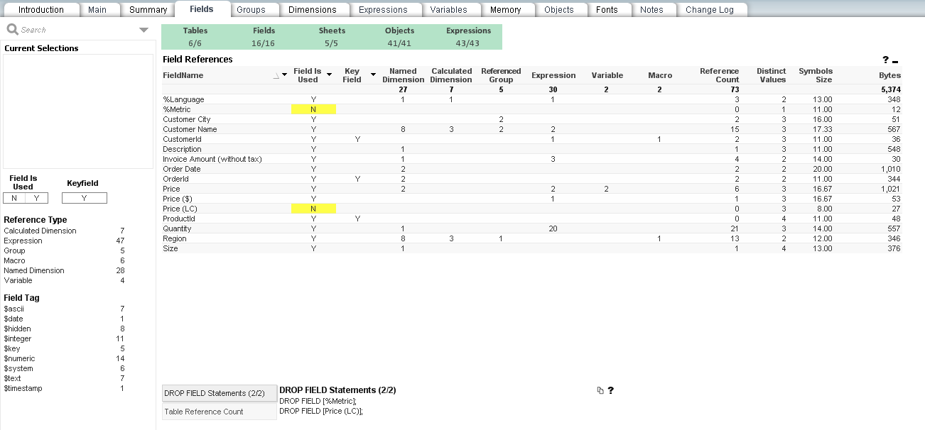 QV Document Analyzer screenshot 2