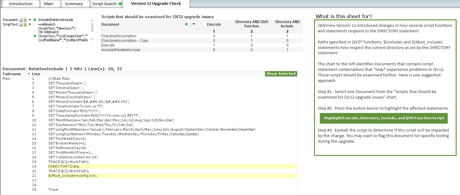 Scripting | Qlikview Cookbook | Page 2
