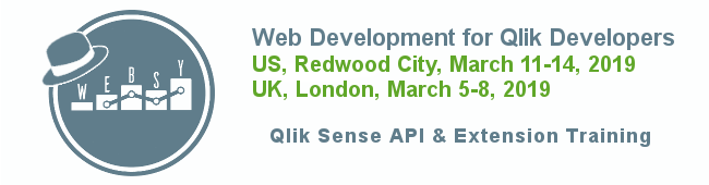 Web Dev for Qlik Devs in US & UK March 2019 | Qlikview Cookbook
